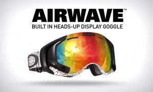 テック系スノーボーダー必見!iPhoneと連携するゴーグル『Air Wave』がアツイ!