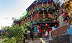 千と千尋の神隠しの世界のような台湾の街『九份』